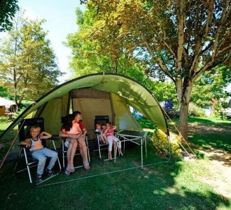 Plaisir du camping au Ventoulou en Vallée de la Dordogne